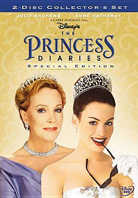 The Princess Diaries DVD