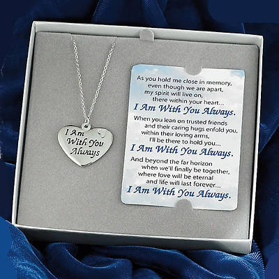 "Picture of ""I am with You Always"" Necklace and Card"