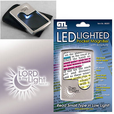 Picture of Led Lighted Pocket Magnifier
