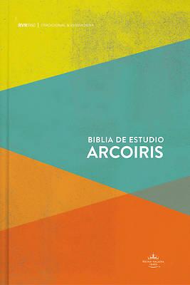 Picture of Rvr 1960 Biblia de Estudio Arco Iris, Multicolor Tapa Dura