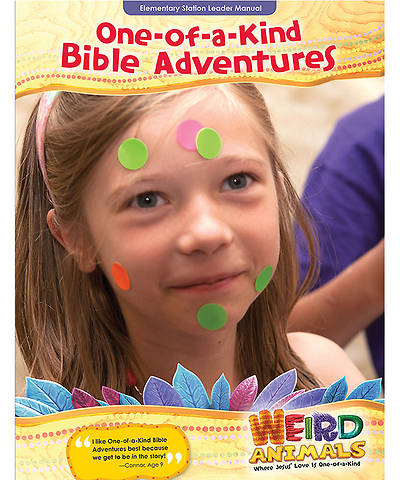 Group VBS 2014 Weird Animals One-Of-A-Kind Bible Adventures Leader Manual