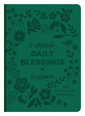 Picture of 3-Minute Daily Blessings for Women