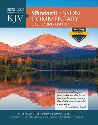Picture of KJV Standard Lesson Commentary Casebound Edition 2020-2021