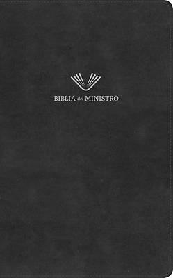Picture of Rvr 1960 Biblia del Ministro, Negro Piel Fabricada