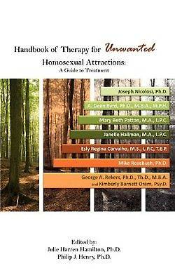 Picture of Handbook of Therapy for Unwanted Homosexual Attractions