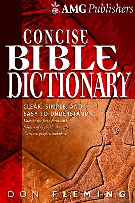 Picture of Amg Concise Bible Dictionary
