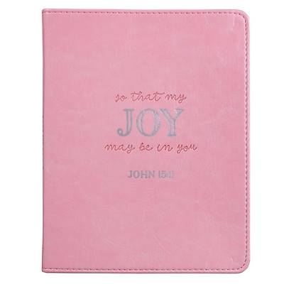 Journal Handy Luxleather That Joy May Be in You - John 15