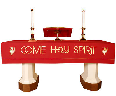 Picture of Abbott Hall Vision Series NAF5558 Pentecost Altar Frontal