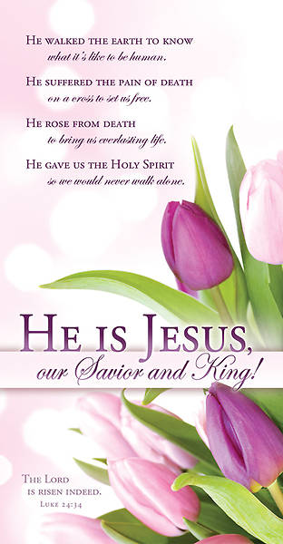Easter He Is Jesus Offering Envelope (Package of 100)
