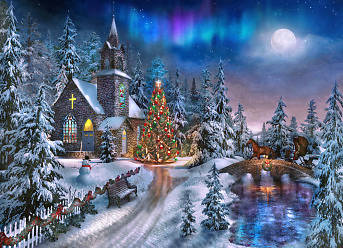 Picture of Christmas Night Puzzle