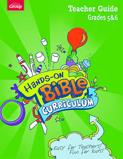 Picture of Group's Hands-On Bible Curriculum Grades 5 & 6 Teacher Guide: Spring 2012