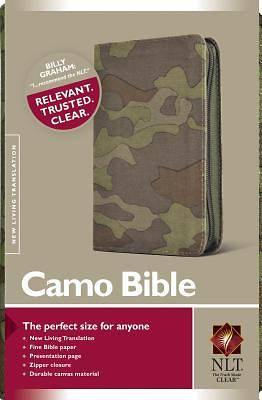 Compact Camo Bible New Living Translation