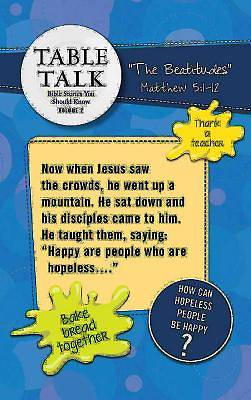 Table Talk Volume 2 - Table Toppers (5 Sets of 6)
