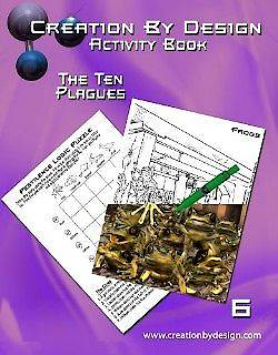 Picture of Activity Book - The Ten Plagues
