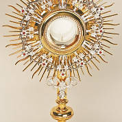 Picture of Koleys K709 Monstrance 24K Gold Plated