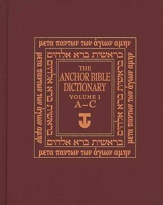 Picture of The Anchor Yale Bible Dictionary Volume 1
