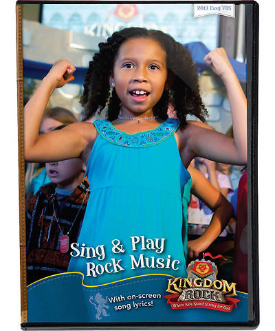 Group Vacation Bible School 2013 Kingdom Rock Sing & Play Music DVD