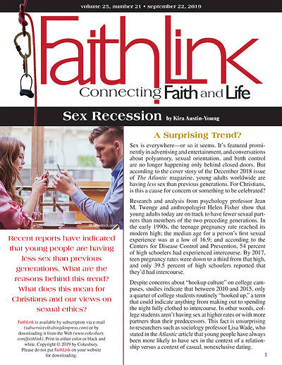 Picture of Faithlink - Sex Recession (9/22/2019)