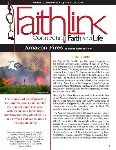 Picture of Faithlink - Amazon Fires (9/29/2019)