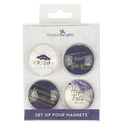 Magnets Hope and a Future - Jeremiah 29:11 (Set of 4)