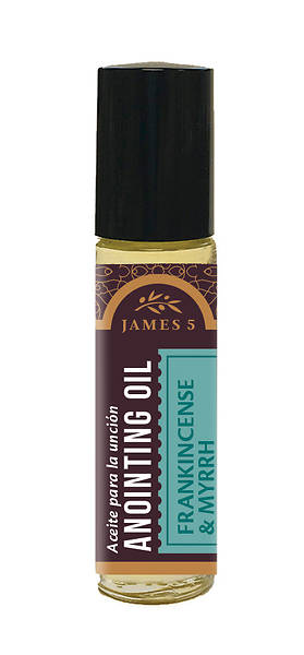 Picture of James 5 Frankincense and Myrrh Roll-On Anointing Oil - 1/3 oz.