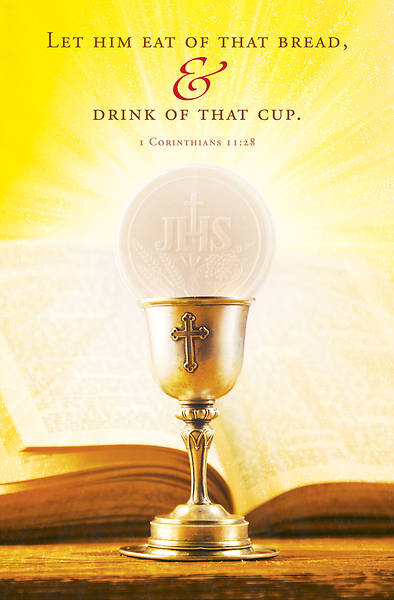 Picture of Eat Bread First Holy Communion Regular Size Bulletin