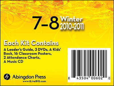 Picture of Live B.I.G. Ages 7-8 DVD Kit Winter 2010-11