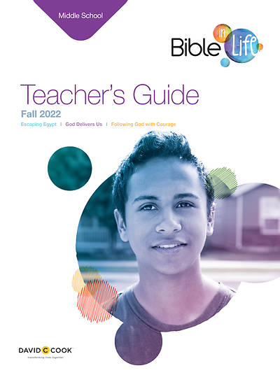 Bible-in-Life Middle School Teachers Guide Fall