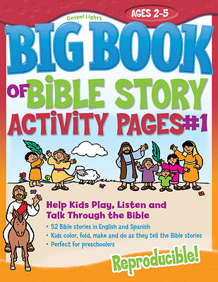 Picture of The Big Book of Bible Story Activity Pages #1