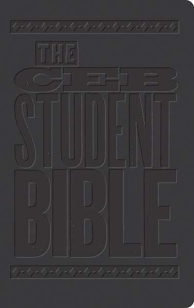 Picture of The CEB Student Bible Black Decotone