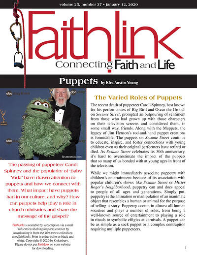 Picture of Faithlink - Puppets (1/12/2020)