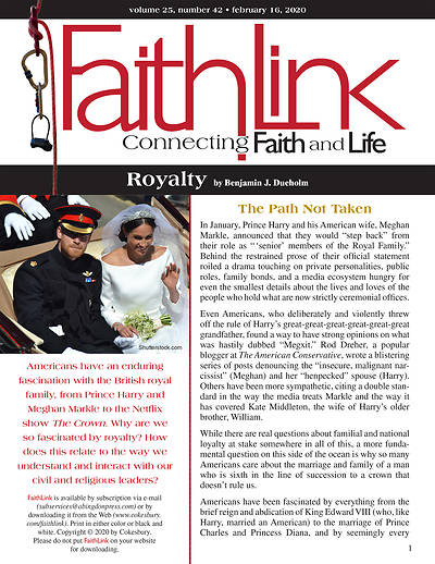 Picture of Faithlink - Royalty (2/16/2020)