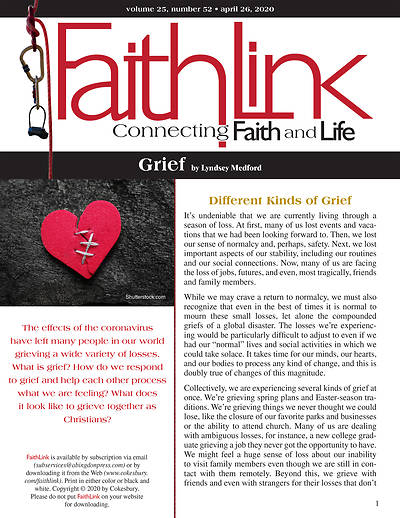 Picture of Faithlink - Grief