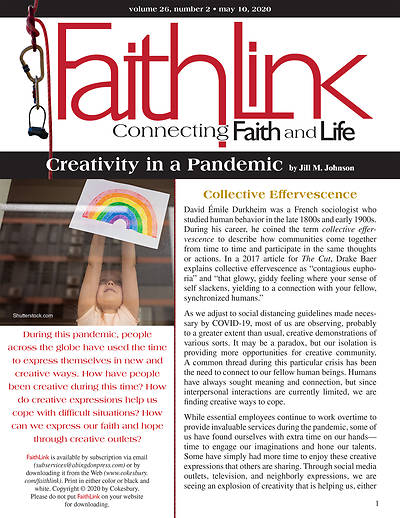 Picture of Faithlink - Creativity in a Pandemic (5/10/2020)