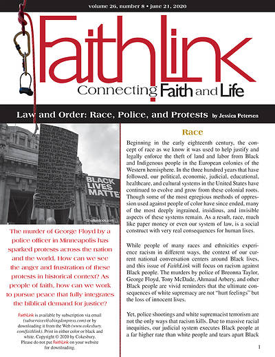 Picture of Faithlink - Law and Order: Race, Police, and Protests (6/21/2020)