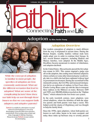 Picture of Faithlink - 7/5/2020 Adoption
