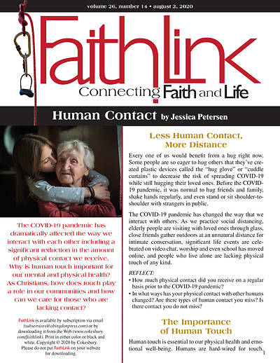 Picture of Faithlink - Human Contact (8/2/2020)