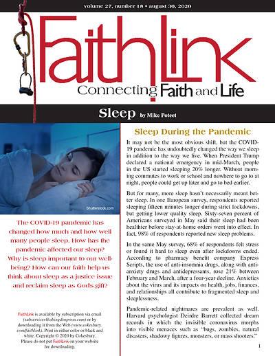 Picture of Faithlink - Sleep (8/30/2020)