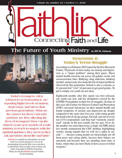 Picture of Faithlink - The Future of Youth Ministry (10/11/2020)
