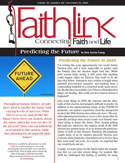 Picture of Faithlink - Predicting the Future (11/08/2020)