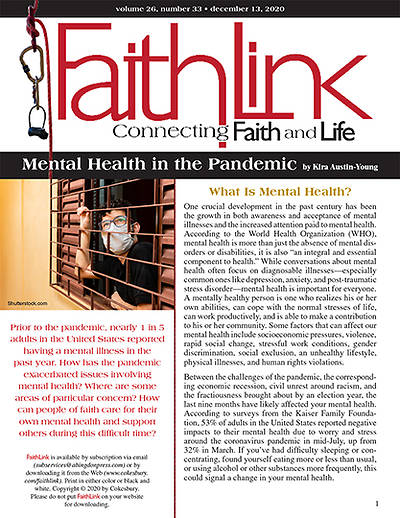 Picture of Faithlink - Mental Health in the Pandemic (12/13/2020)
