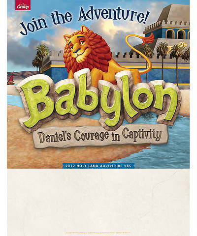 Vacation Bible School (VBS) 2018 Babylon Publicity Posters - Pkg of 5