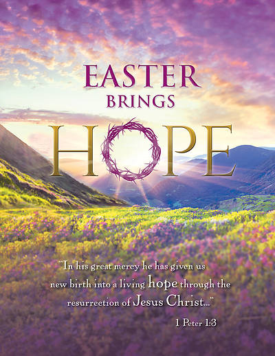 Picture of Easter Brings Hope  Easter Tabloid Bulletin