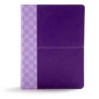 Picture of CSB Study Bible, Purple Leathertouch, Indexed