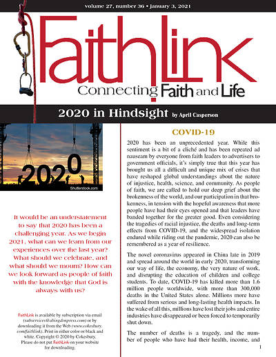 Picture of Faithlink - 2020 in Hindsight (01/03/2021)