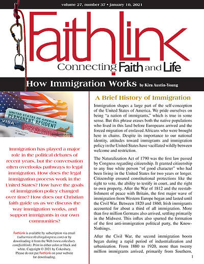 Picture of Faithlink - How Immigration Works (01/10/2021)