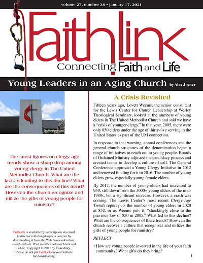 Picture of Faithlink - Young Leaders in an Aging Church (01/17/2021)