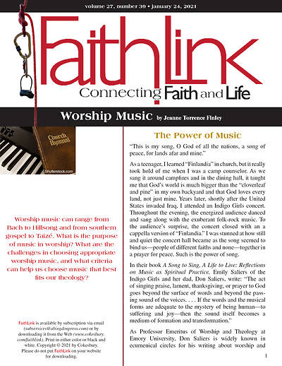 Picture of Faithlink - Worship Music (01/24/2021)