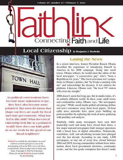 Picture of Faithlink - Local Citizenship (02/07/2021)