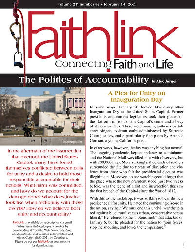 Picture of Faithlink - The Politics of Accountability (02/14/2021)